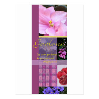 Fruit of the Spirit Gentleness Postcard