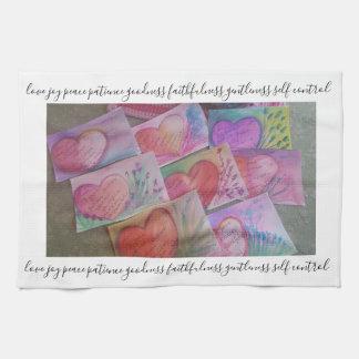 fruit of the spirit. kitchen towel