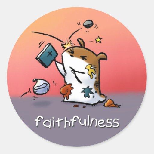 Fruit of the Spirit Sticker (Faithfulness)