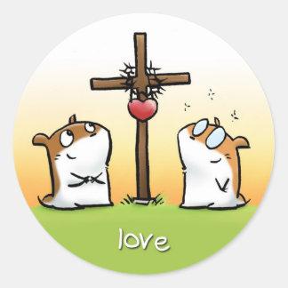 Fruit of the Spirit Sticker Love