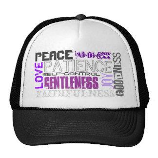 Fruit of the Spirit Trucker Hat (purple)