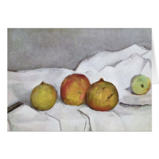 Fruit on a Cloth, c.1890 Card
