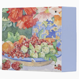 Fruit on a plate 2014 binder