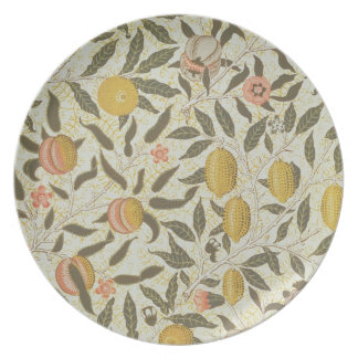 Fruit or Pomegranate wallpaper design Plate