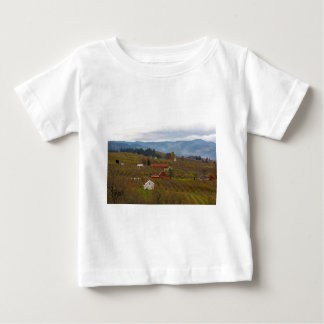 Fruit Orchard Farmland in Hood River Oregon Baby T-Shirt