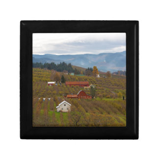 Fruit Orchard Farmland in Hood River Oregon Gift Box