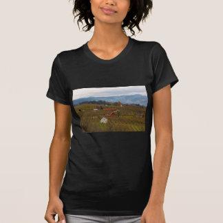Fruit Orchard Farmland in Hood River Oregon T-Shirt