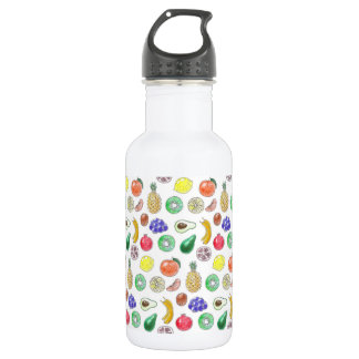Fruit pattern 532 ml water bottle