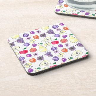 Fruit pattern coaster