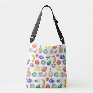 Fruit pattern crossbody bag