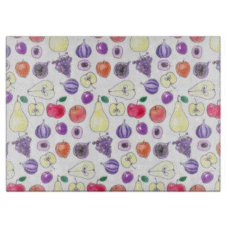 Fruit pattern cutting board
