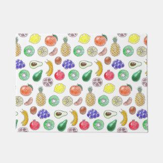 Fruit pattern doormat
