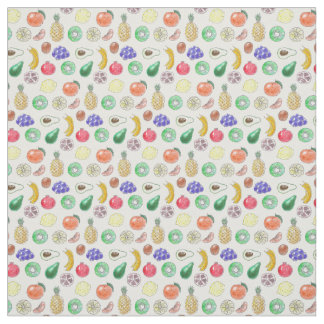 Fruit pattern fabric