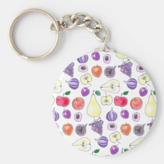 Fruit pattern keychain