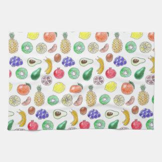 Fruit pattern kitchen towel
