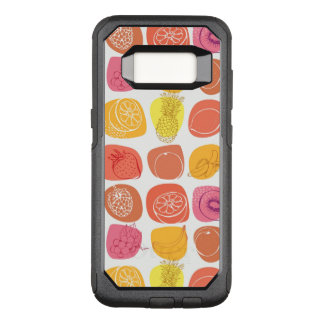 Fruit pattern OtterBox commuter samsung galaxy s8 case