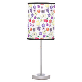 Fruit pattern table lamp