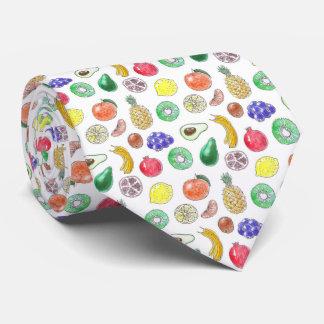 Fruit pattern tie