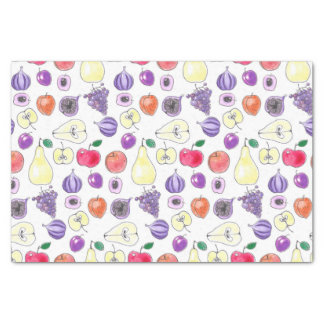 Fruit pattern tissue paper