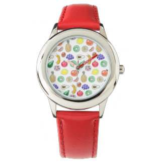 Fruit pattern watch