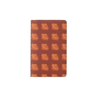 Fruit Patterns Blood Orange Pocket Moleskine Notebook