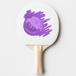 Fruit Patterns Blueberries and Cream Ping Pong Paddle