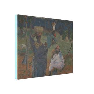Fruit Picking by Paul Gauguin Canvas Print