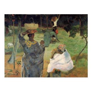 Fruit Picking - Paul Gauguin Postcard