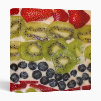 Fruit Pizza Close-Up Photo Binder