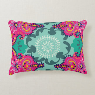 """Fruit Punch"" Boho Crush- Candy Swirl Pillow"