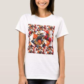 Fruit Salad Foods Chef Healthy Eating Cuisine Art T-Shirt