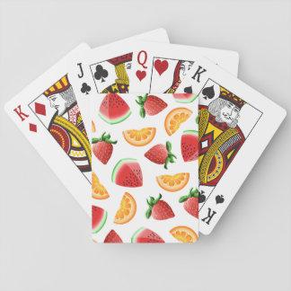 Fruit Salad Playing Cards