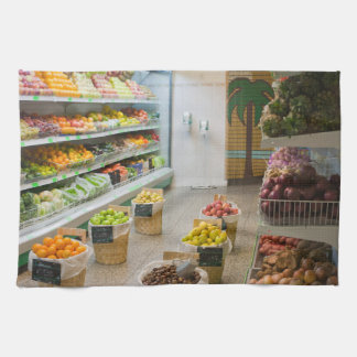 Fruit shop kitchen towel