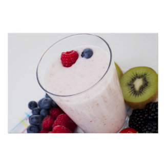 Fruit Smoothie Print