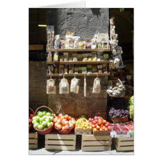 Fruit Stand Blank Card