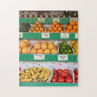 Fruit Stand, Columbus Avenue, New York City, NYC Puzzle