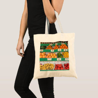 Fruit Stand, Columbus Avenue, New York City, NYC Tote Bag
