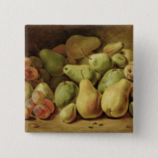Fruit Still Life 2 Inch Square Button