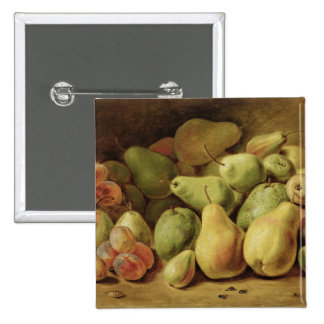 Fruit Still Life 2 Inch Square Button