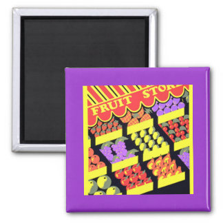 Fruit Store Magnet