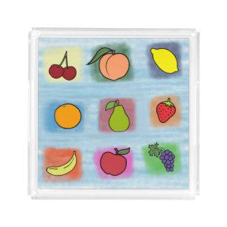 Fruit Surprise Acrylic Tray