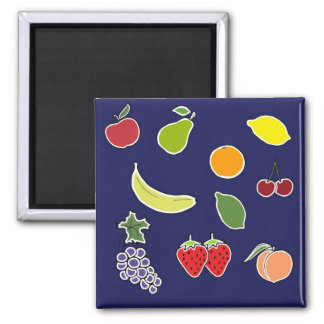 Fruit Surprise Blue Magnet