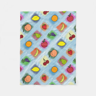 Fruit Surprise Fleece Blanket