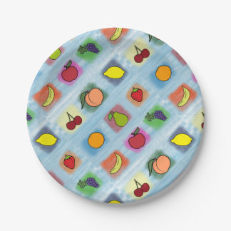 Fruit Surprise Paper Plate