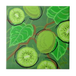 Fruit Tile:  Kiwis Tile
