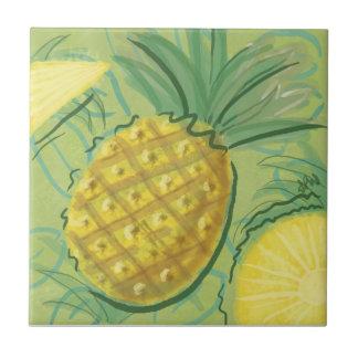 Fruit Tile: Pineapples Tile