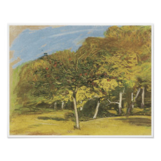 Fruit Trees c 1865-75 Claude Monet Print