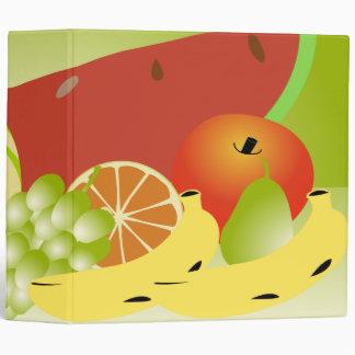 fruit vector still life notebook binder