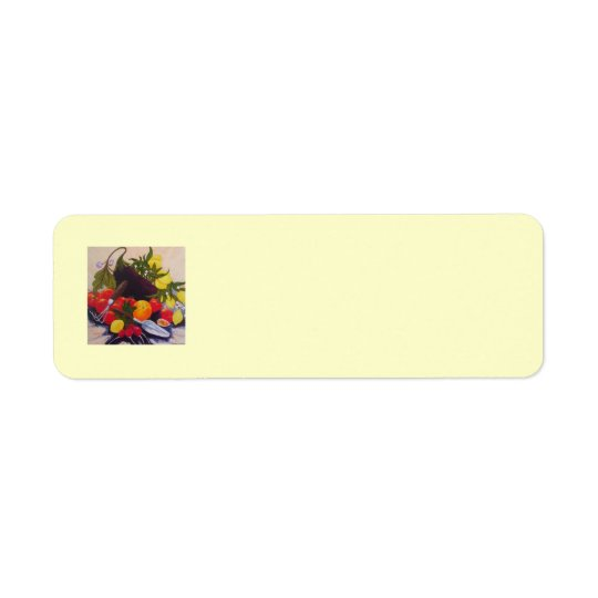 Fruit & Vegetable Medley Return Address Label