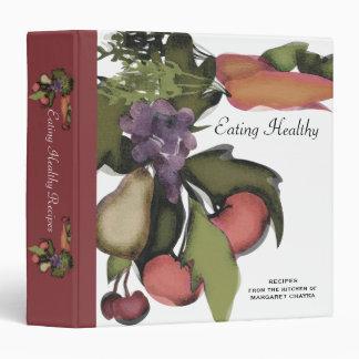 Fruit vegetable mega plant cooking baking recipe c binders